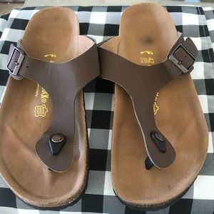 Birkenstocks. Size 42.  Barely worn